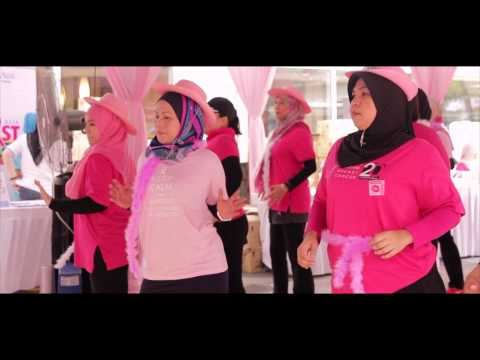 Avon Malaysia Kiss Goodbye To Breast Cancer 2014 (Zumba dance)