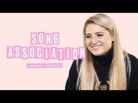 Meghan Trainor Sings John Legend Fifth Harmony and JLo in a Game of Song Association  ELLE