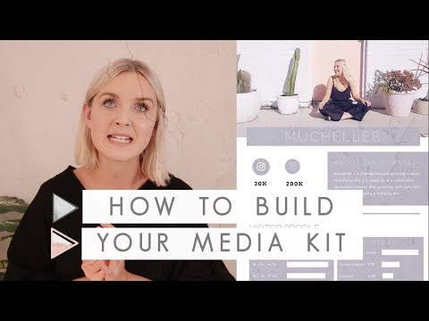 How to Create a Media Kit for More Brand Deals on Youtube | CHANNEL NOTES
