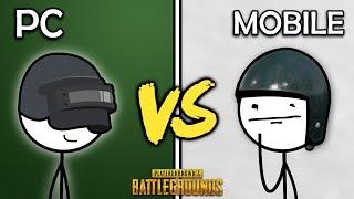 PUBG PC Gamers VS PUBG Mobile Gamers
