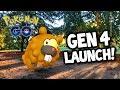 Crazy *SHINY* Egg Hatch LUCK on GEN 4 Pokémon GO Release!