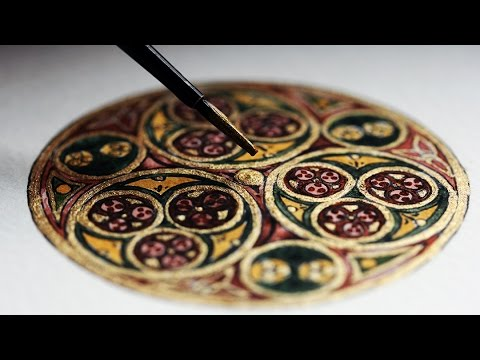 Illustrating a Celtic Circle (Kells)