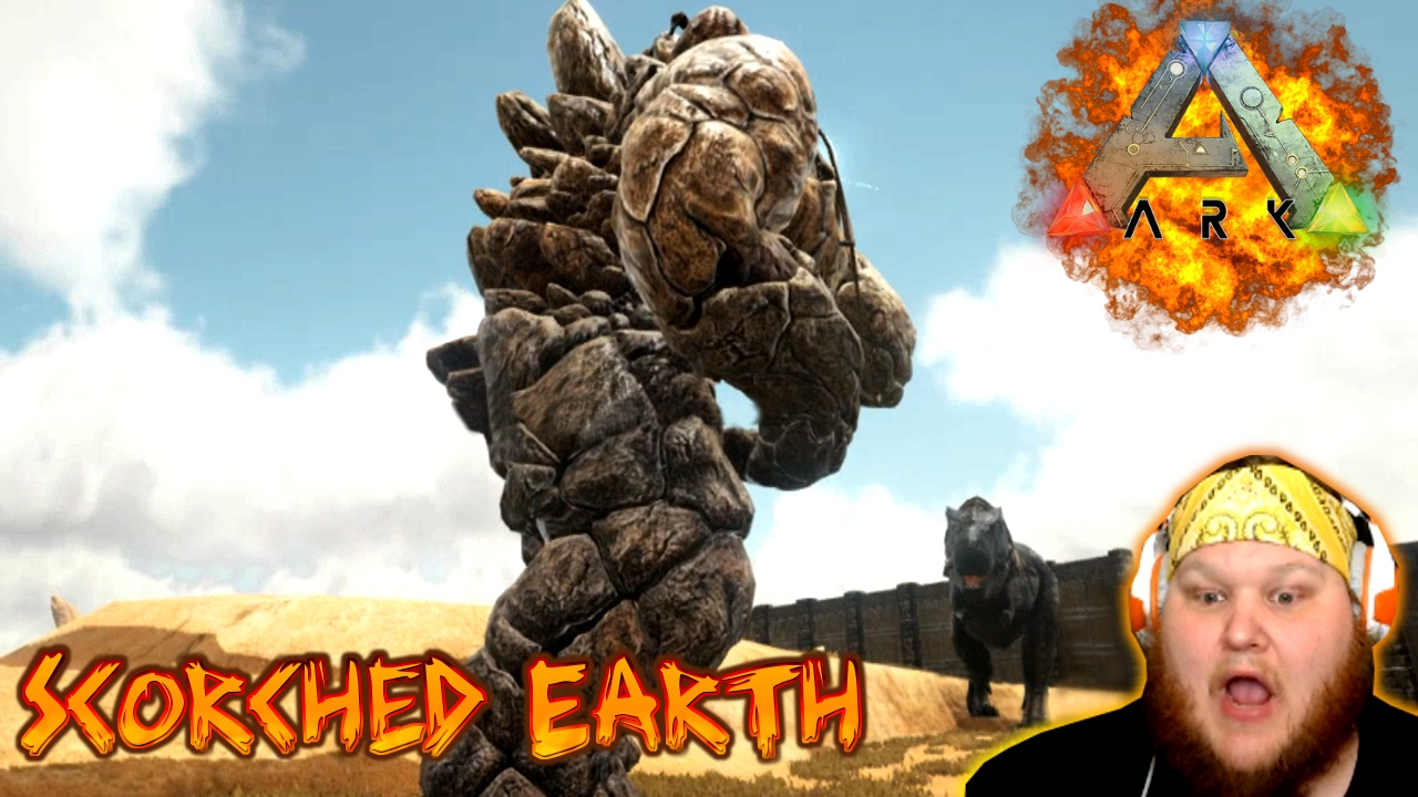 Ark: Survival Evolved | SCORCHED EARTH | #7 CHAOS IN THE CAVE