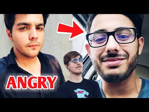 Ashish Chanchlani ANGRY On Fake Channels | CarryMinati Rap Song | PewDiePie Vs T-Series | MrBeast | thumbnail