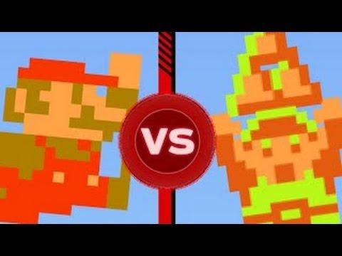 MARIO vs LINK! Omega Animation