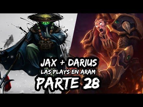 Las Plays En ARAM | League Of Legends #28 Jax + Darius