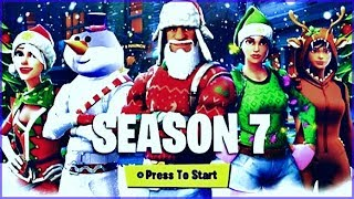 FORTNITE SEASON 7 Info, Battle Pass Skins, Trailer & More