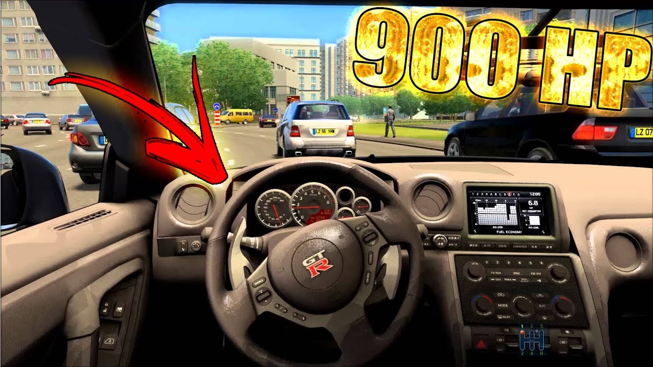 Download Car Parking Hd Android - Comprei Um Gtr 900hp!😱