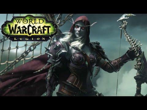 WOW Legion - The Battle For Broken Shore & New Warchief - Horde Druid Gameplay