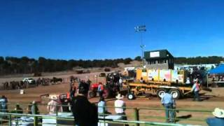 Lady Driver Tractor pull case