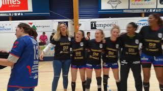 Les joueuses du Mérignac Handball championnes de France