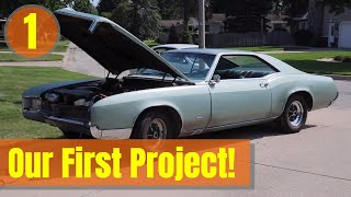 Our First Project Car! [ 66 Buick Riviera ] Episode 1