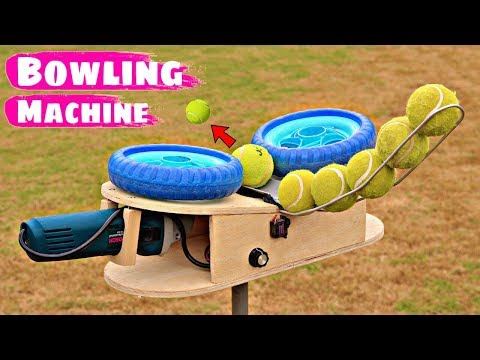 How To Make Cricket Bowling Machine | Arduino Project
