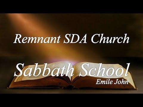 "Sabbath School Study: ""Boasting in the Cross"""