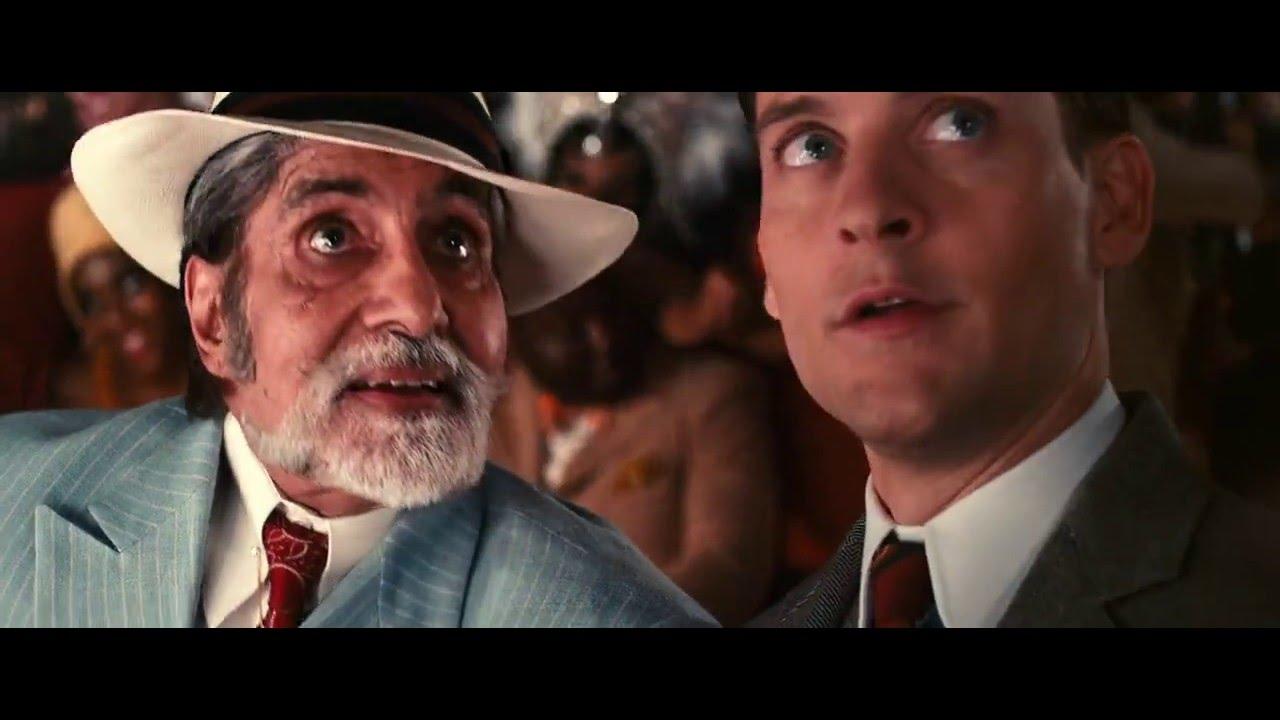 822c3af1a7fd7 The Great Gatsby Hindi - Amitabh Bachchan scene Full HD - YouTube