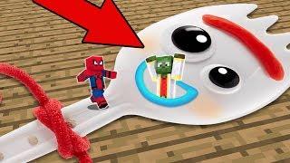 Entramos Dentro Del Cuerpo De Forky En Minecraft  Partes Del Cuerpo En Minecraft  Toy Story 4