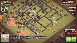 QW Lalo vs Fortas LTU.. clash of clans attack