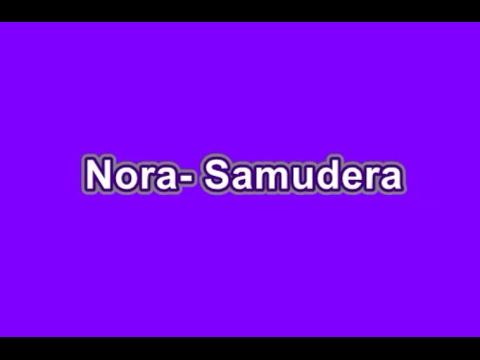 Nora- Samudera (Karaoke)