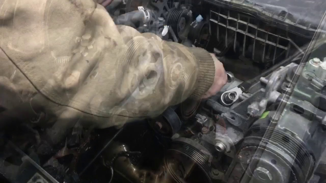 How To Do A Subaru Outback Forester 25 Timing Belt Youtube Chain