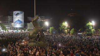 Manifestations tendues en Serbie après l'annonce de nouvelles mesures sanitaires anti-Covid-19