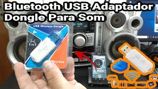 Adaptador Bluetooth USB Dongle Transmissor Para Som.