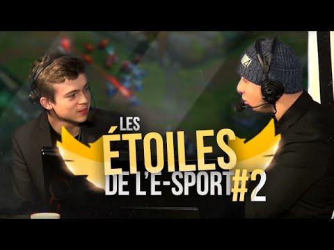LES ÉTOILES DE L'E-SPORT #2