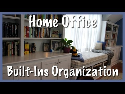 Home Office: Built-Ins Organization