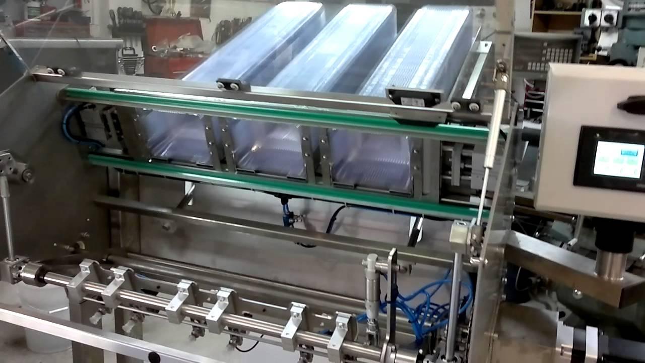 1 Tray Denester Machine Tomitek Engineering Youtube