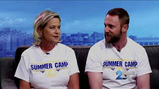 Summer at Blakefield featured on WMAR-TV's Mid-Day Maryland