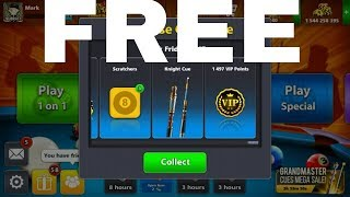 How to get 137 cash and Knight cue for free?