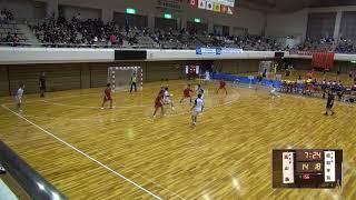 7日 ハンドボール男子 あづま総合体育館Aコート 高山西×昭和学院 3回戦2