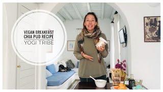 CRUNCHY VEGAN CHIA PUDDING  - VEGAN CHIA RECIPE - What to eat for breakfast when vegan??
