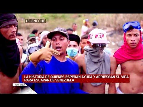 Frontera caliente: Tensión y heridos en Venezuela