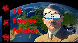 Los 10 errores que le costaron a Alemania la segunda guerra mundial