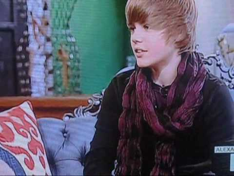 justin bieber on alexa chung on MTV part 1