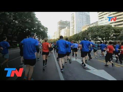 La media maratón de Buenos Aires con la cámara exclusiva de Todo Noticias