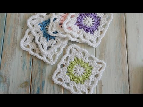 How To Crochet a Vintage Granny Square