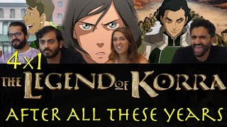 The Legend of Korra - 4x1 After All These Years - Group Reaction