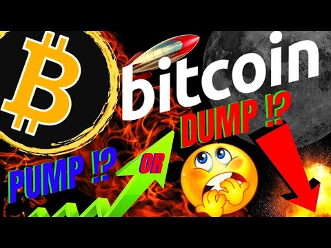 HUGE PUMP OR DUMP FOR BITCOIN SOON!! BTC LTC ETH Crypto Price Prediction, Analysis, News, Trading