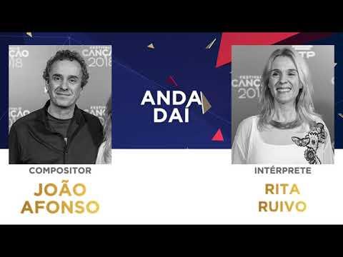 Anda Daí (45'') - João Afonso | Festival da Canção 2018