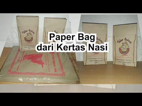 CARA MEMBUAT PAPER BAG KADO SIMPLE (DIY).