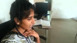Kannada Kavana by Saraswathi Unnati Admin. Student