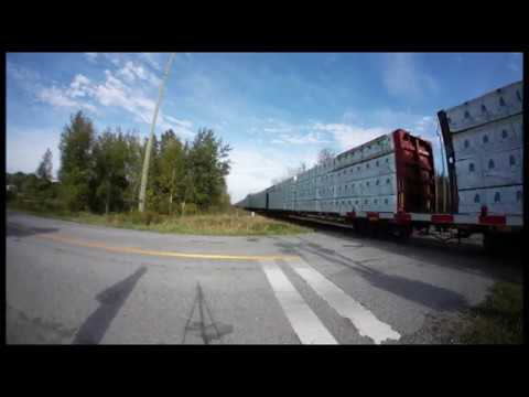 THE OTHER SIDE! CN 8950 at Newtonville