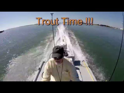 Catching Speckled Trout In Aransas Pass Texas
