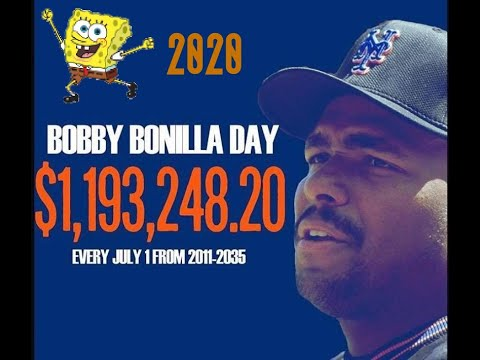 Happy Bobby Bonilla Day! Why the New York Mets pay him $1.19 ...