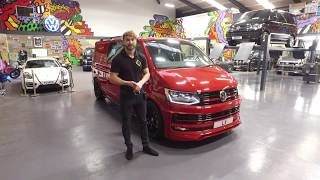 Cherry Bomb!!!! James shows you around our latest Transporter ABT creation