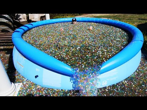 Thumbnail: What Happens If You Throw Sodium Bomb in Giant Orbeez Pool?