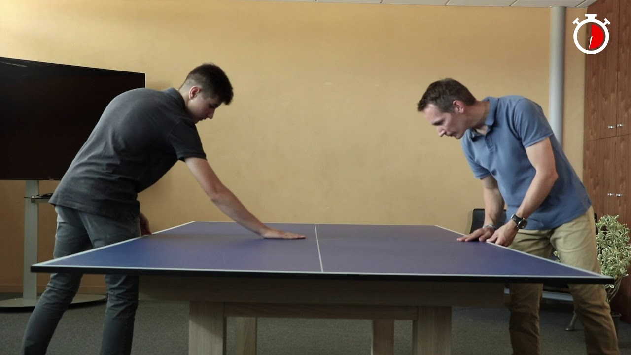 Convert Your Pool Or Dining Table To An Indoor Tennis In Just 2 Minutes