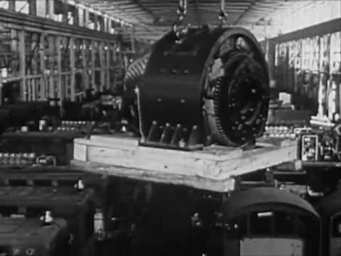 1940s Work Opportunities for Electricians in Transportation - CharlieDeanArchives / Archival Footage