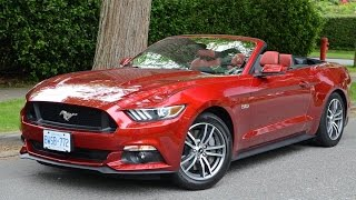2015 Ford Mustang Convertible Review